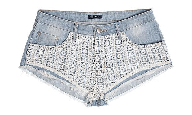 Shorts com renda (Foto: Mdemulher)