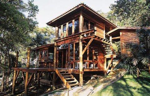 As casa Pré-fabricadas em madeira são ótimas (Foto Divulgação: Casa/Abril)