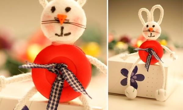 As crianças podem fazer os enfeites para a Páscoa (Foto Divulgação: MdeMulher)