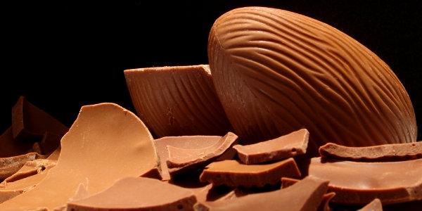 Os ovos de chocolate são indispensáveis na Páscoa (Foto Divulgação: MdeMulher)