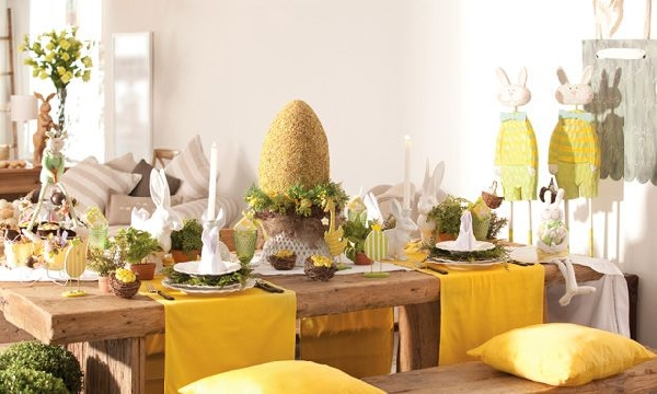 Decorar a mesa e a casa para a ceia de Páscoa traz um clima especial voltado para o significado real da Páscoa (Foto Divulgação: MdeMulher)