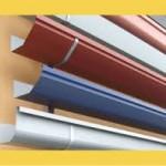 As calhas para telhados de PVC são muito úteis e bonitas para sua residência.(foto: divulgação)