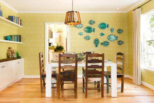 Decora o para casa de praia 2016 mundodastribos todas as tribos em um nico lugar - Fetching images of blue and yellow kitchen design and decoration ideas ...