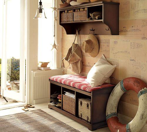 Decoração com móveis de madeira (Foto Ilustrativa)