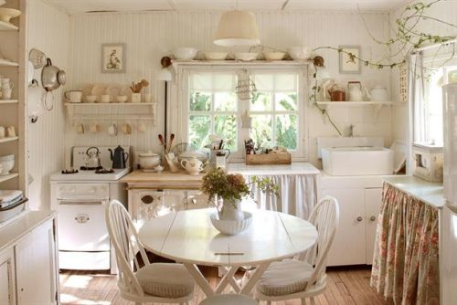 Cozinha vintage (Foto Ilustrativa)