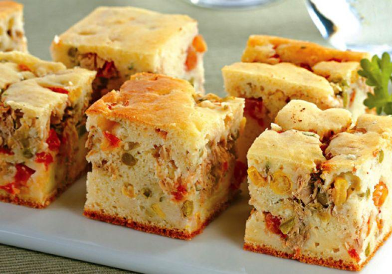 Receita de torta salgada (Foto: Gshow)