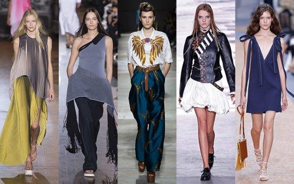 A tendências estão sendo apresentadas nos desfiles. (Foto: Reprodução/ Fashionfilesmag)