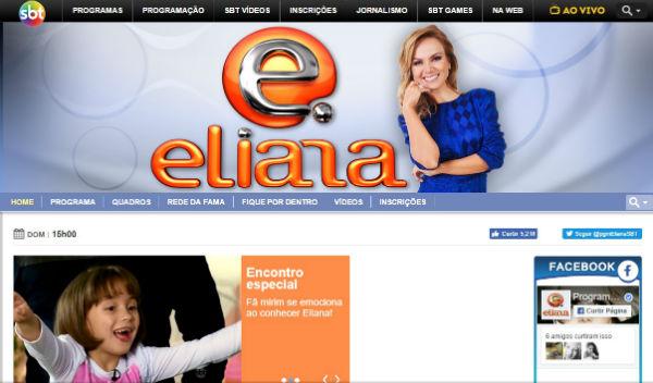 Se mantenha informado sobre as novidades da carreira da Eliana.(foto: divulgação)