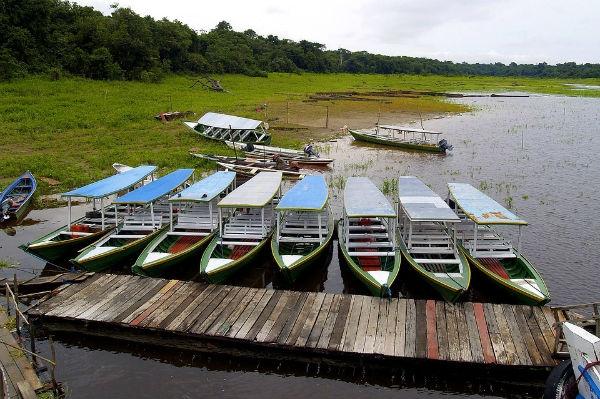 A região também concentra o maior rio do mundo, o Rio Amazonas. (Foto: Divulgação).