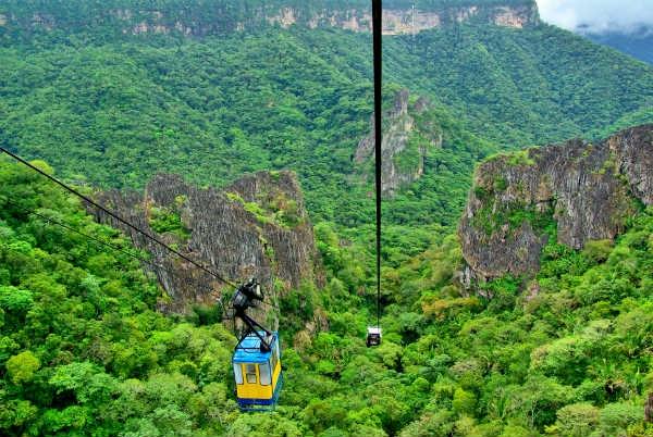 A região se destaca principalmente por sua riqueza ecológica. (Foto: Divulgação).