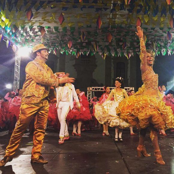 Na capital pernambucana, a festa junina dura o mês inteiro (Foto: Divulgação Prefeitura do Recife)