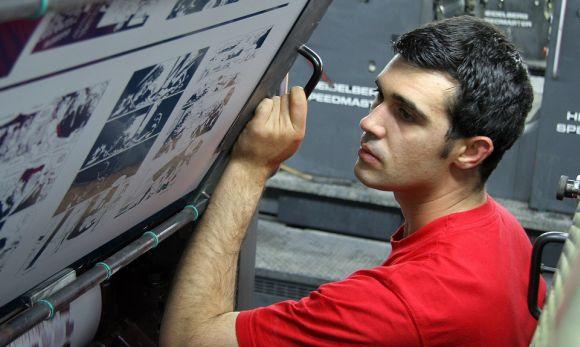 Curso gratuito de Impressor Off Set Senai Paraíba (Foto Ilustrativa)