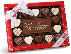 Cesta de chocolates para Dia dos Namorados