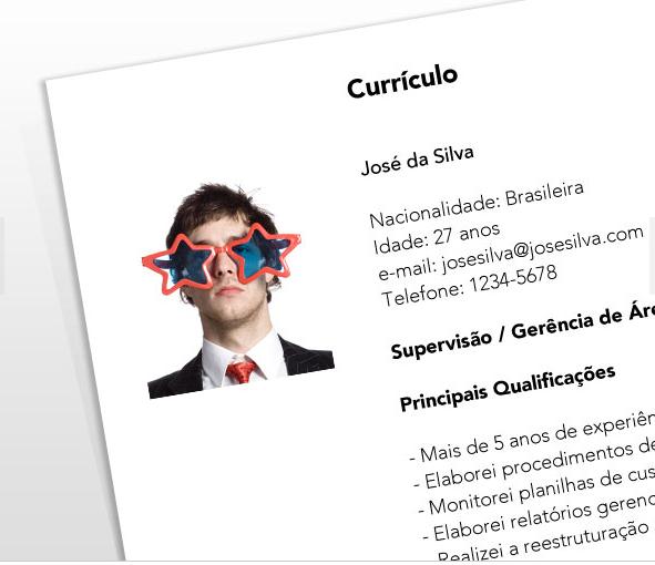 Cuide o seu português correto no currículo (Foto: Divulgação)