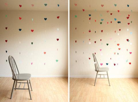 Mobile suspenso para decoração Dia dos Namorados (Foto: Divulgação MdeMulher)