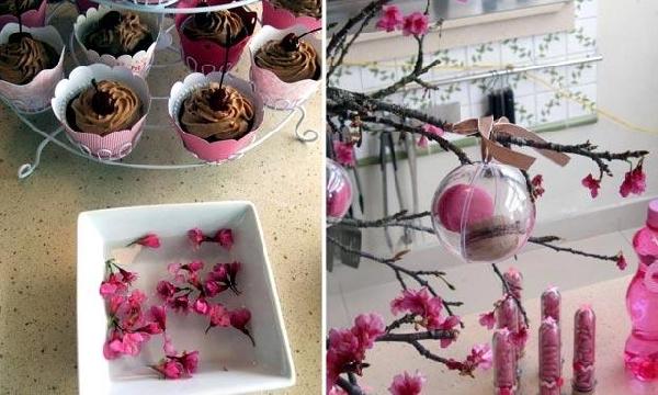 Decoração com flores (Foto Divulgação: MdeMulher)
