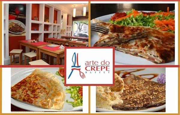 Arte do Crepe Seu amor vai adorar esse restaurante (Foto: Divulgação)