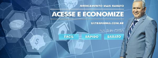 Faça suas compras online na rede Ultrafarma (Foto: Divulgação)