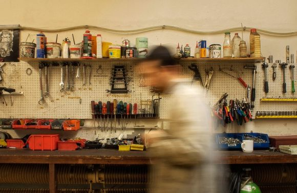 Os alunos dos cursos de manutenção de motos podem trabalhar em oficinas, montadoras, etc (Foto Ilustrativa)
