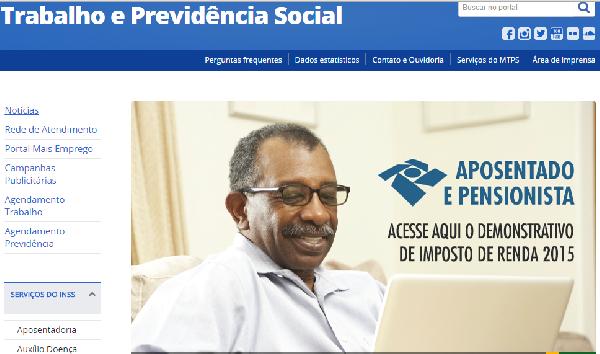 O site da previdência oferece facilidade e praticidade (Foto: Divulgação Previdência Social)