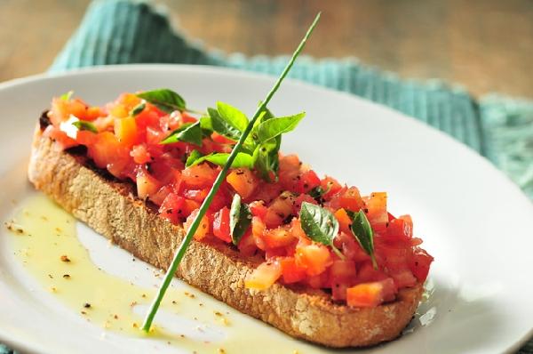 Bruschetta de Tomate e Manjericão (Foto: Divulgação)
