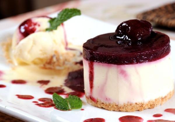 Receita de Cheesecake de frutas vermelhas (Foto: Divulgação)