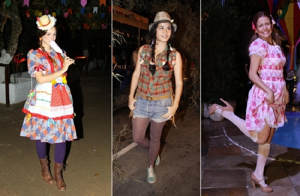 O xadrez é uma característica da roupa para festa junina (Foto: Divulgação)