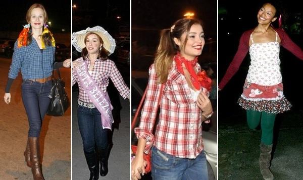 O chapéu de palha ajuda a caracterizar o look para a festa (Foto: Divulgação)