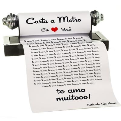 Carta a Metro (Foto: Divulgação Loja Apaixonados)