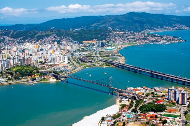 Florianópolis é um lugar lindo, com um excelente litoral (Foto: Divulgação)