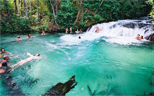 Lugares para visitar no dia dos pais com águas claras (Foto: Divulgação)