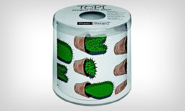 Porta Papel de lata (Foto Divulgação: MdeMulher)