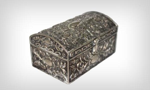 Caixa porta trecos de metal (Foto Divulgação: MdeMulher)