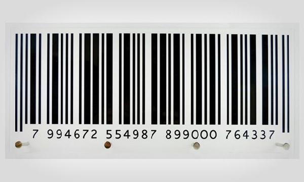 Porta toalha código de barras (Foto Divulgação: MdeMulher)