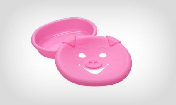 Saboneteira de porquinho (Foto Divulgação: MdeMulher)