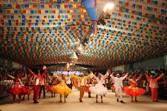 As festas de São João costumam ser animadas por muita música (Foto Ilustrativa)