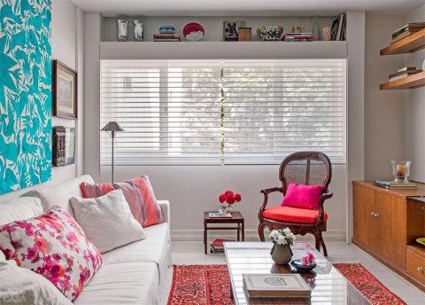 As persianas são práticas e modernas (Foto Divulgação: Casa/Abril)