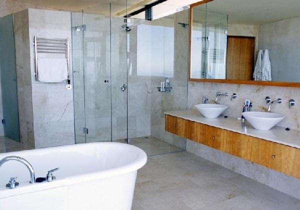 Banheiro estilo contemporâneo (Foto Divulgação: MdeMulher)