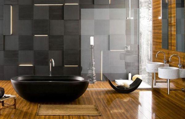 Banheiro Black (Foto Divulgação: MdeMulher)