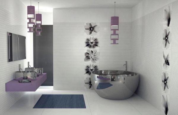 Banheiro ultra-moderno (Foto Divulgação:  homedesignmodel.com)