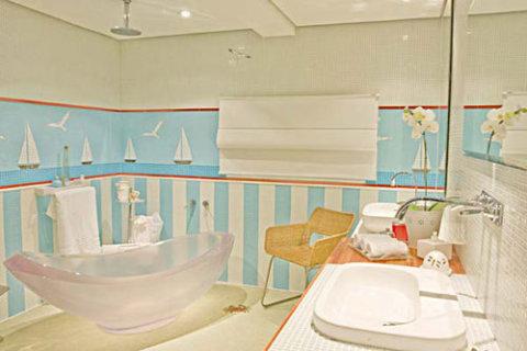 Banheiro temático (Foto Divulgação: Casa/Abril)