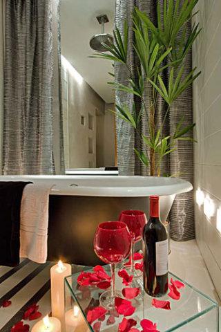 Banho romântico (Foto Divulgação: Casa/Abril)