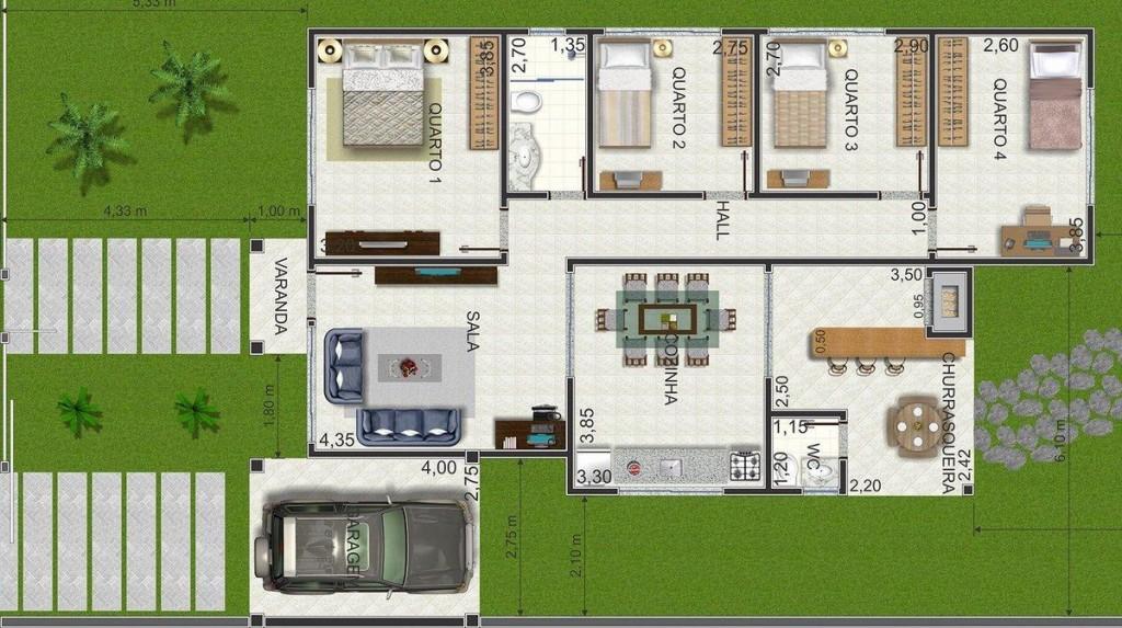 Profissionais podem montar a casa dos sonhos (Foto: Tudo Construção)