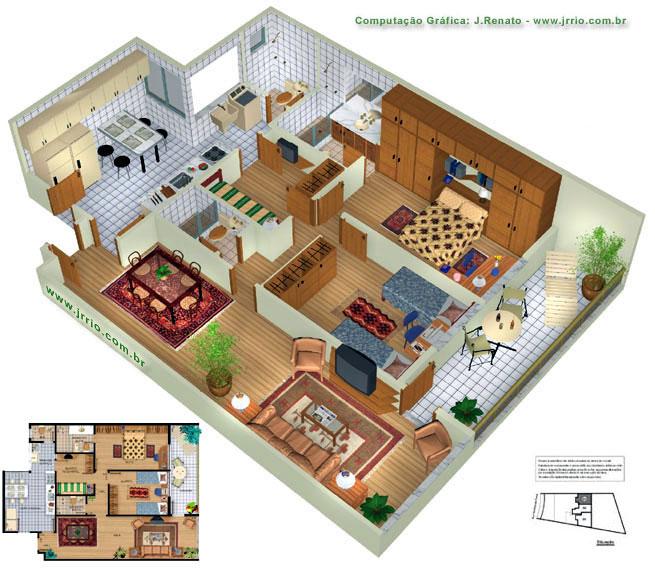 Monte sua casa dos sonhos (Foto: Tudo Construção)