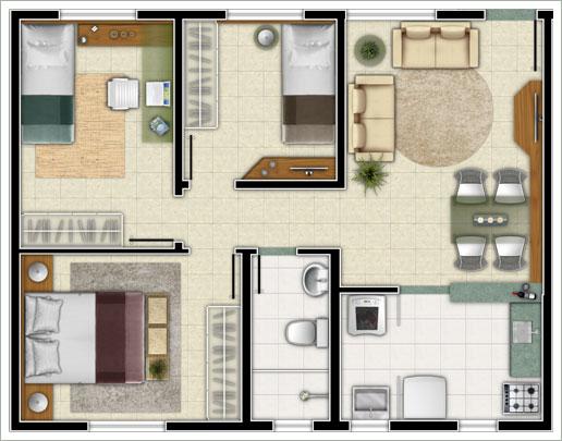 Casa grande com diversas áreas (Foto: Tudo Construção)