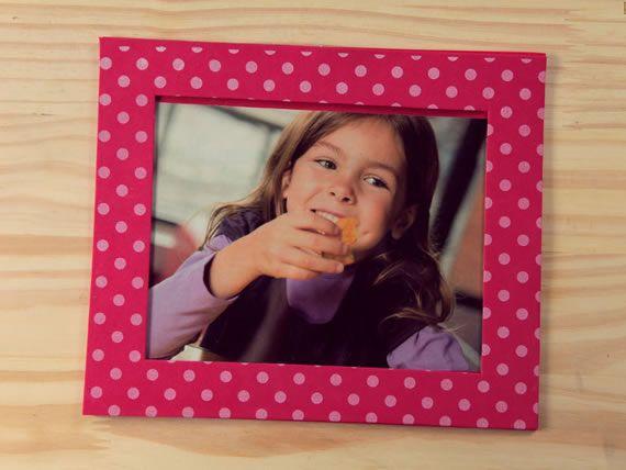 Porta Retrato de EVA (Foto: Divulgação)