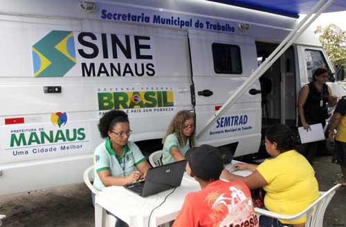 SINE Manaus Empregos no Amazonas AM