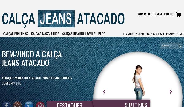 Encontre seu jeans com preço melhor no atacado (Foto: Divulgação Calça Jeans Atacado)