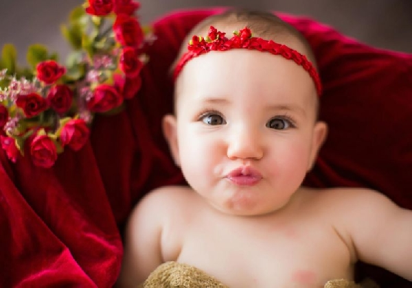 Que beicinho fofo (Foto Divulgação: MdeMulher)