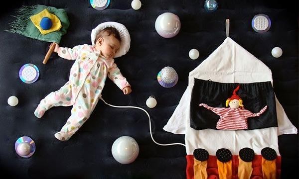 Passeando no espaço (Foto Divulgação: MdeMulher)